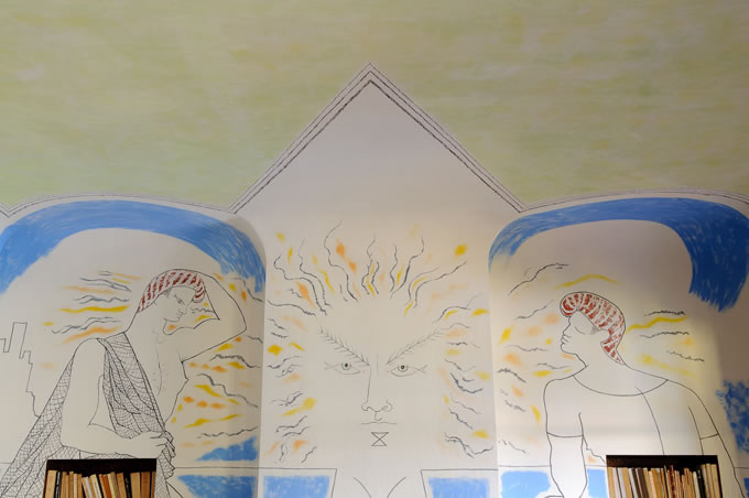 Santo Sospir fresque Apollon